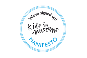 Logo for Kids in Museums