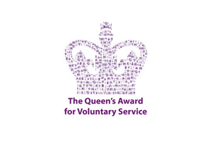 Logo for the Queen's Award for Voluntary Service